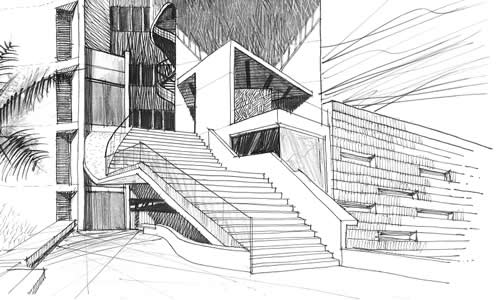 El dibujo arquitect nico for Tecnicas de representacion arquitectonica pdf