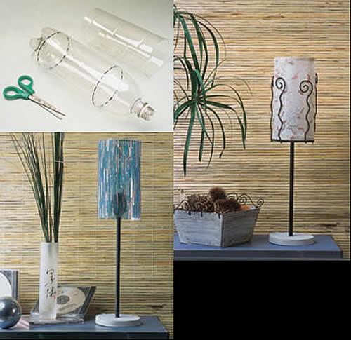 Decoracion con reciclado taringa - Decoracion de lamparas ...