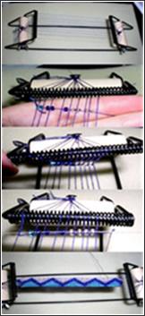 Como tejer con el telar
