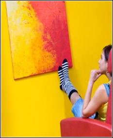 decoracin con pintura de paredes