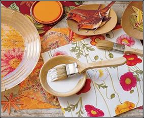 T cnica decoupage con servilletas - Decoupage con servilletas en muebles ...